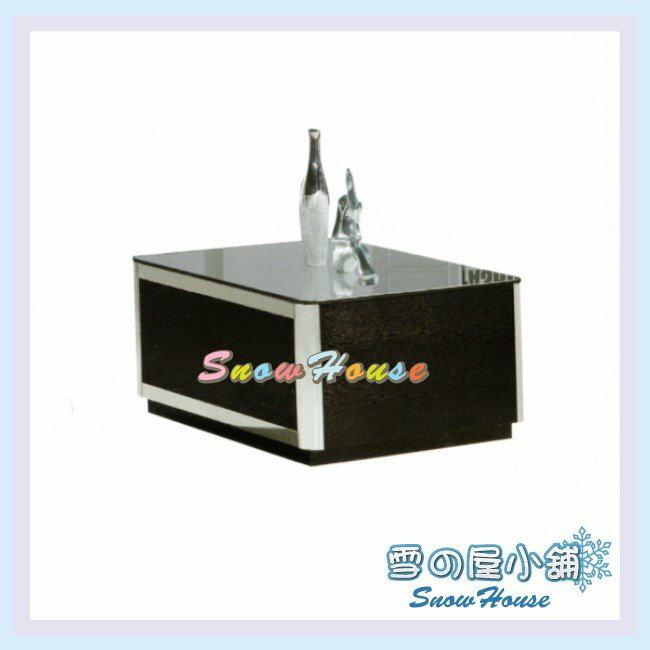 ╭☆雪之屋居家生活館☆╯AA425-08 K461小茶几(啞光烤漆板)(10mm強化玻璃)/收納櫃/置物櫃/70公分寬