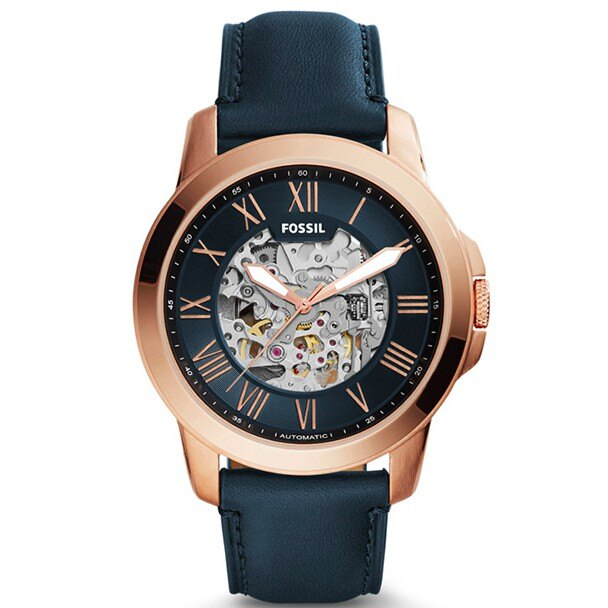 Fossil 雙針鏤空機械錶ME3102 【Watch-UN】