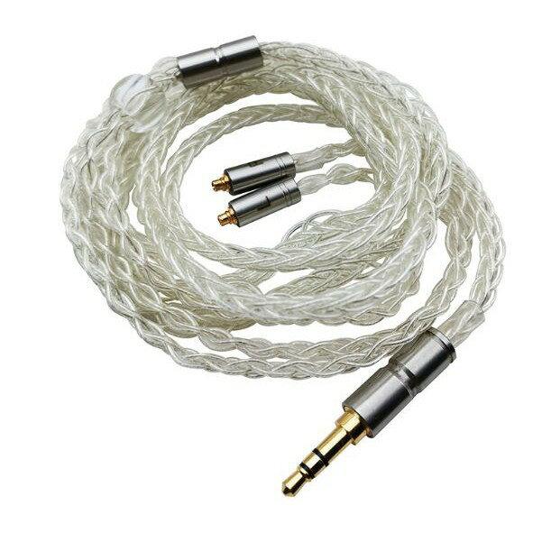 川木16  耳機升級線八股mmcx插頭平衡6n單晶銅鍍銀線混編diy發燒音訊線材
