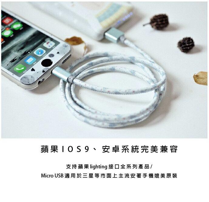 [現貨]【BardShop推薦小物】爆款新品 超萌森林系充電線/2.4A快充/萌物必備/傳輸線/安卓/IOS 1