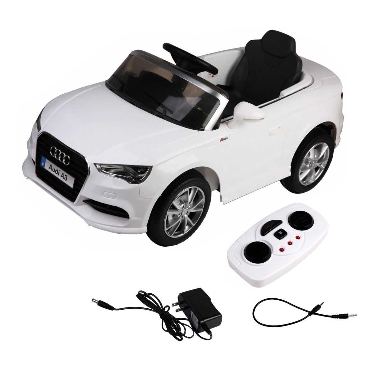 Costway Costway V Audi A Licensed RC Kids Ride On Car Electric - Audi electric toy car