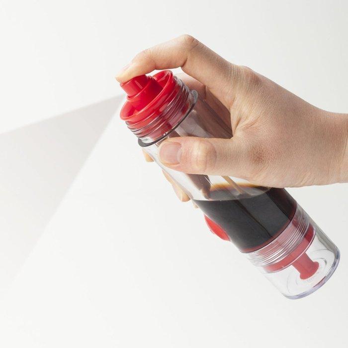 按壓式雙頭醬油調味料噴瓶 控油小油壺 廚房定量油瓶 油壺 醬油瓶 控油調味瓶