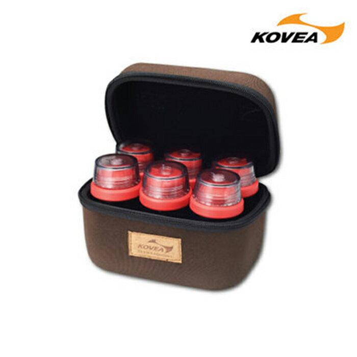 Kovea 韩国 | CS调味酱料罐组-6入附硬盒 | 秀山庄(KR8CK0201)
