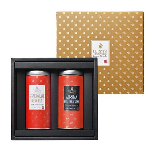 《沁意》臻藏•手採紅茶禮盒 (日月潭紅玉+阿里山蜜香紅茶)