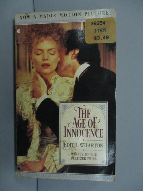 ~書寶 書T1/原文小說_NOM~The Age of Innocence