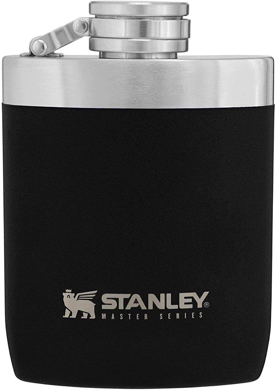 【【蘋果戶外】】Stanley 1002892 TA 黑 240ml 美國 大師系列 酒壺 真空保溫瓶 保溫水壺 10-02892