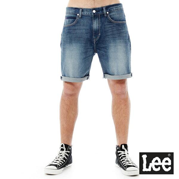 【季末出清5折】Lee 牛仔短褲-男款