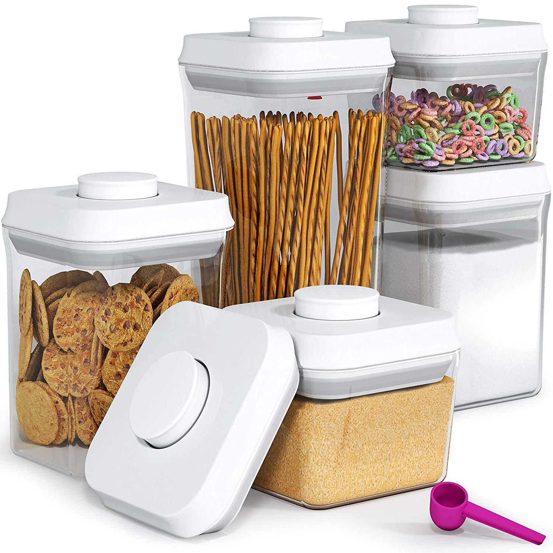 5-Piece Pop & Lock Air Tight Food Storage Container Set + $6.3 Credit