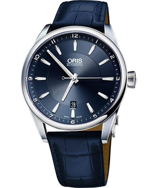 ORIS 豪利時0173376424035-0752185FC Oris Artix日期械腕錶/藍面42mm