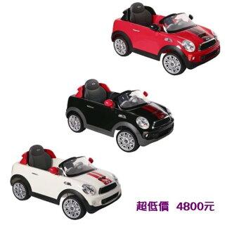 *美馨兒*Mini CooperS 兒童電動車-遙控電動車 (3色可選) 4800元