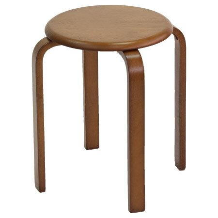 木製圓凳 6201/S6 MBR NITORI宜得利家居