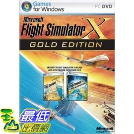 [二手良品] Microsoft Flight Simulator X: Gold Edition
