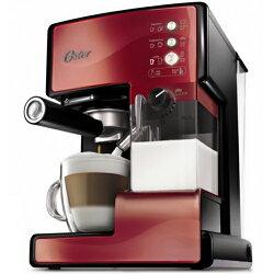 【送咖啡豆2包】OSTER 美國  第二代奶泡大師 義式咖啡機  BVSTEM6602R 紅 PRO升級版
