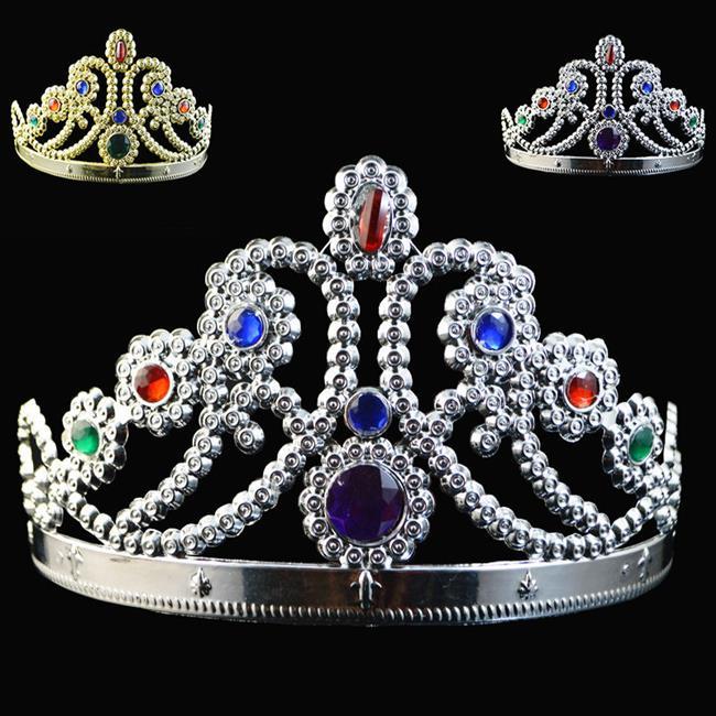 【塔克】公主 皇冠 國王皇冠 白雪公主皇冠 髮箍 頭飾 髮飾 萬聖節/派對/服裝/角色扮演/變裝/搞笑裝扮