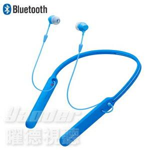 【曜德】SONY WI-C400 天空藍 無線藍牙入耳式耳機 無線麥克風 ★ 免運 ★ 送收納袋