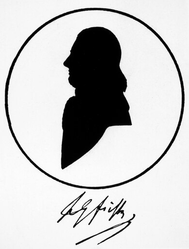 Johann Gottlieb Fichte N(1762-1814) German Philosopher Silhouette From Life Originally In Johann GoetheS Possession Poster Print by (18 x 24) 8994ece9c0e371fa18365854cf4c554d