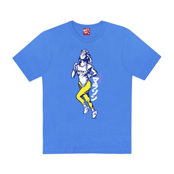 DoctorJ慢跑女孩藍色(男女款皆有)