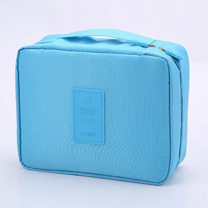 【酷創意】韓流新款 韓版旅行用大容量洗漱包 四方包 多功能旅行二代洗漱包(E34)