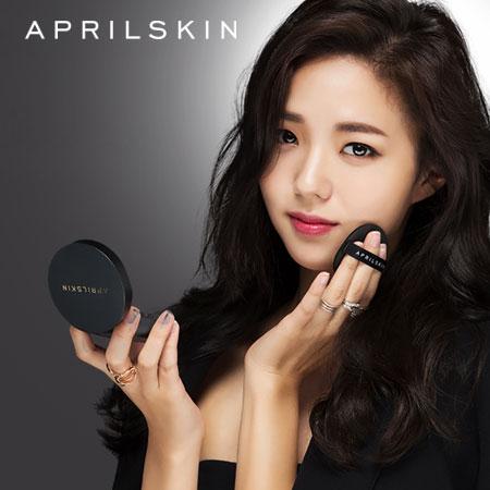 韓國 April Skin 魔法雪白氣墊粉凝霜 (黑盒) 15g