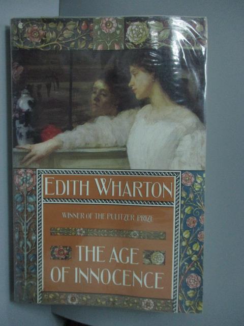 【書寶二手書T1/原文書_LOA】Age of Innocence_Edith Wharton