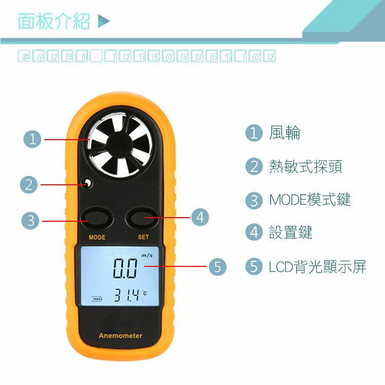 口袋型 測風速計 HANLIN-FGM816 液晶顯示 風力計 風速儀 溫度計 溫度儀 風溫 風速測試器 風量儀