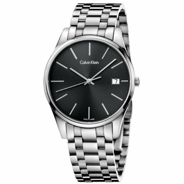 CK時光系列(K4N21141+K4N23141)經典簡約時尚腕錶黑面40+36mm