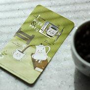 茶杯 書籤 18K金  韓國 進口 連線 德德