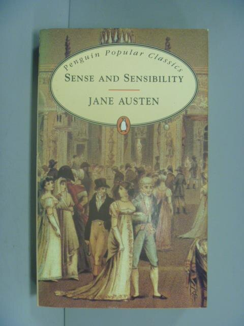 ~書寶 書T1/原文小說_GME~Sense and Sensibility ^(Peng