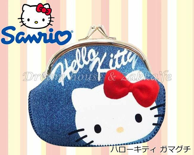 日本進口 sanrio 三麗鷗 Hello Kitty 凱蒂貓 雙珠扣式 零錢包 / 小物包 / 貝殼包 / 雜物包 《多用途喔》★ 夢想家精品家飾 ★ - 限時優惠好康折扣