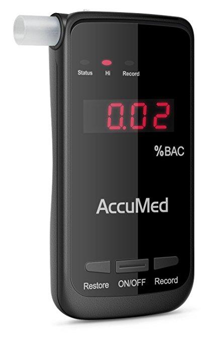 Accumed Alcohol Breathalyzer 1