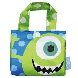 大賀屋 日貨 大眼怪 購物袋 環保袋 環保購物袋 大購物袋 外出包 包包 怪獸電力公司 迪士尼 正版 J00015993