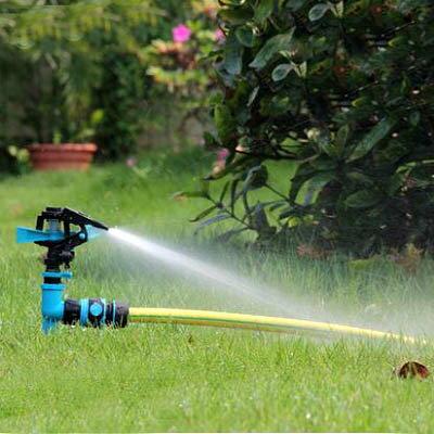 【單旋轉噴頭+單接頭-KN229-1套/組】4分單通插地式園藝園林草坪農用自動灑水器-5170855