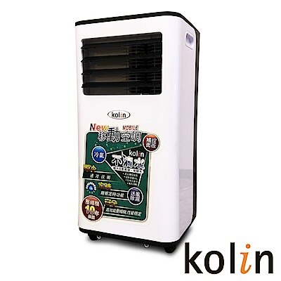 KOLIN 歌林 移動式空調 KD-251M03 移動式冷氣 5-7坪冷專 冷氣/除濕/風扇一機多用
