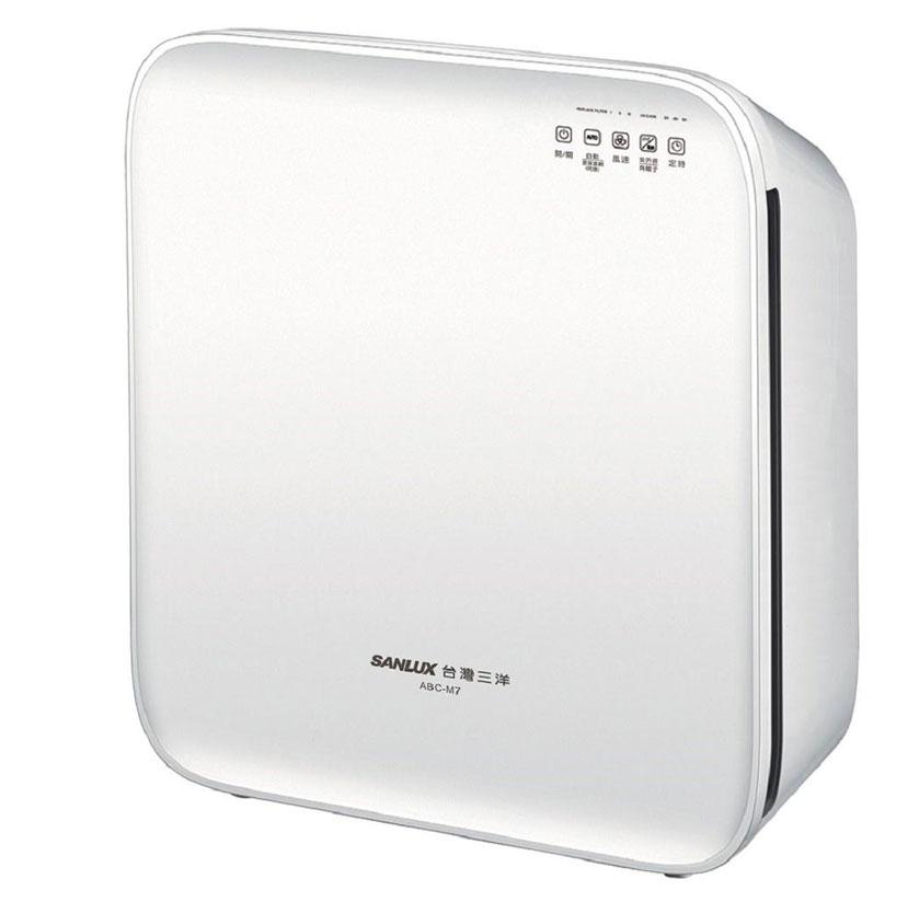 SANLUX 台灣三洋 時尚淨白空氣清淨機 10坪 ABC-M7 1