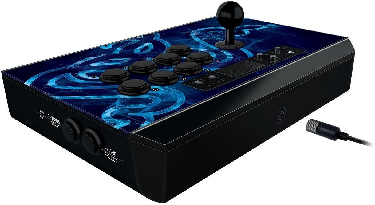 Razer Panthera Arcade Stick Fully Mod-Capable Fight Stick for PS4 / PS3