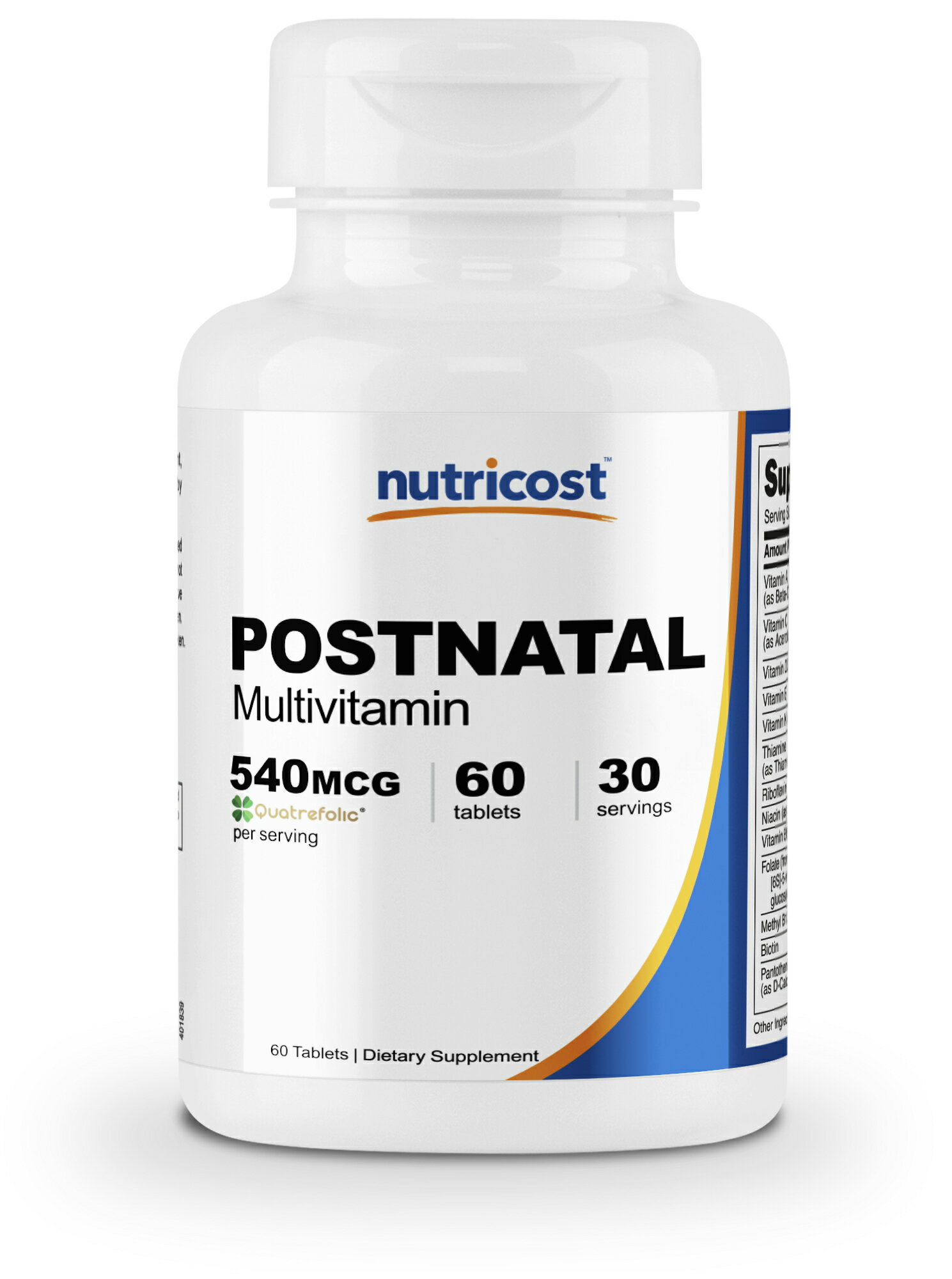 Nutricost Postnatal Multivitamin (60 Tablets) - Supports Healthy Muscles,  Bones, Growth, and Development