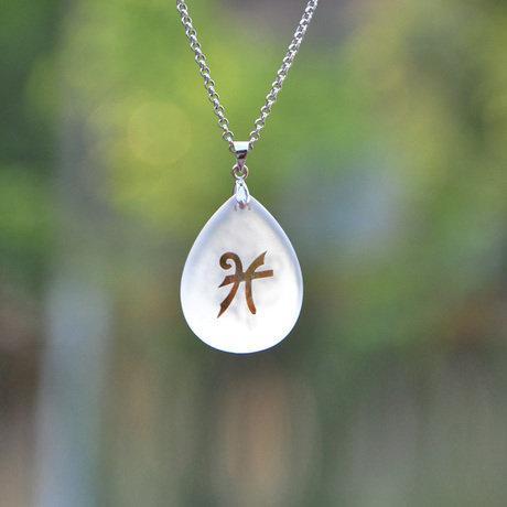 雙魚座開運水晶飾品創意生日禮物 男女項鏈