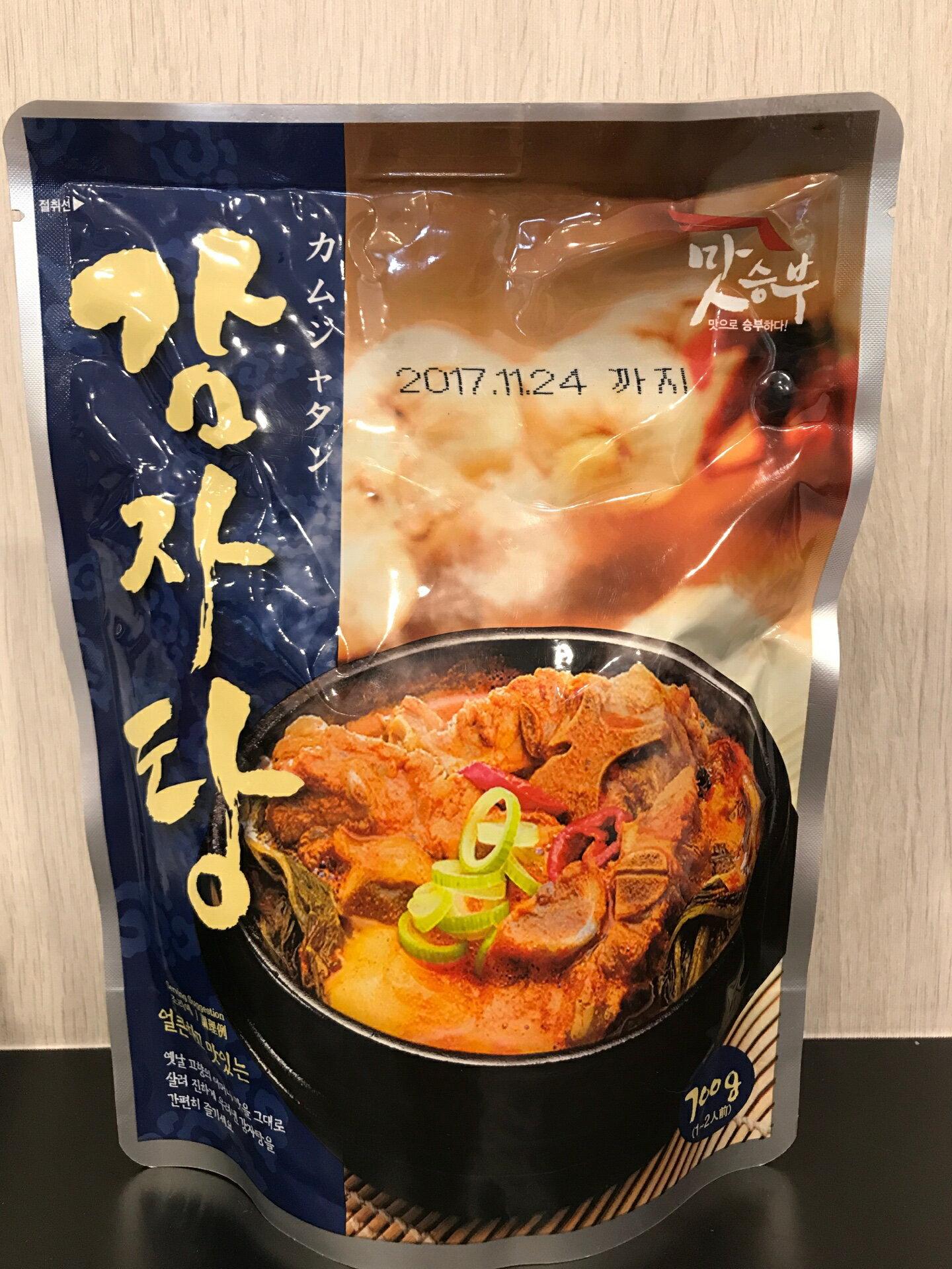 韓式 馬鈴薯排骨湯 700g