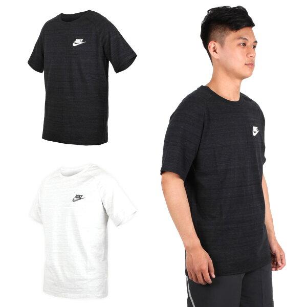 NIKE男短袖上衣(T恤短T慢跑路跑【03312829】≡排汗專家≡