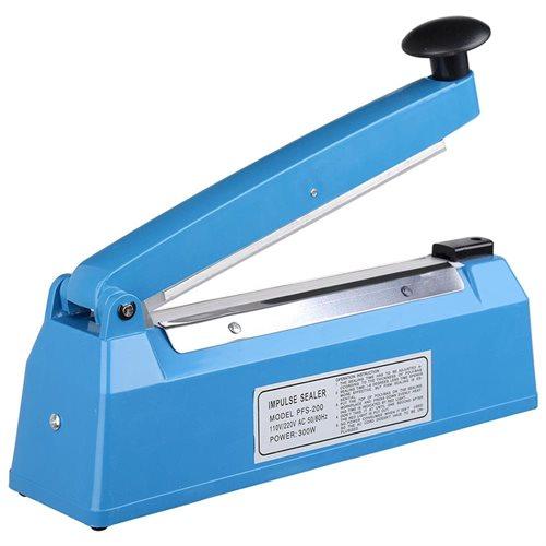 "8"" Impulse Manual Sealer Heat Sealing Machine Poly Tubing Plastic Bag Spare Teflon 2"