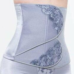 六甲村 - 雕塑型束腹長腰夾 (薰衣紫)