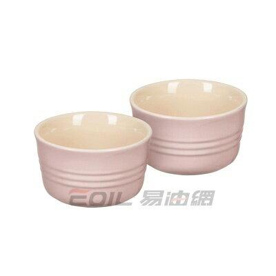 Le Creuset 陶瓷布丁杯  2入組  雪紡粉 9.5cm #91002800401