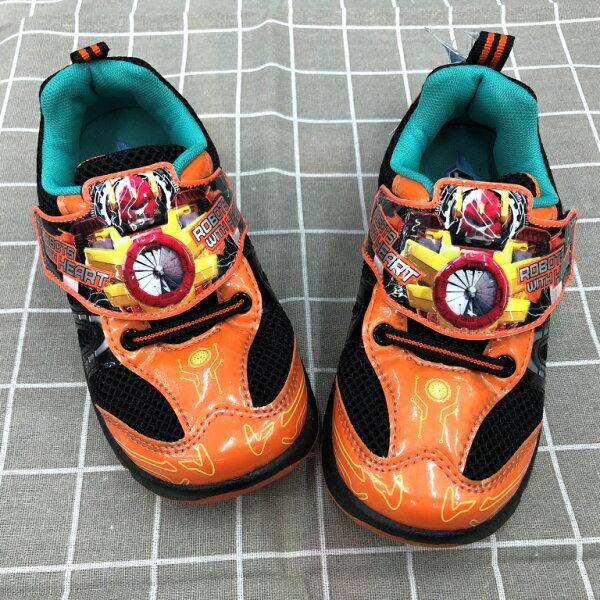 【巷子屋】TOBOT機器人-童款運動休閒鞋[66208]橘MIT台灣製造超值價$198