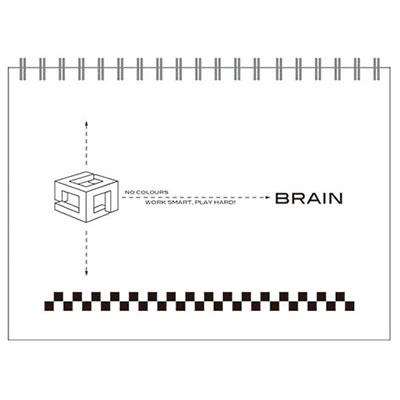 美加美 AW5028 50K無色系列素描本-白 /本