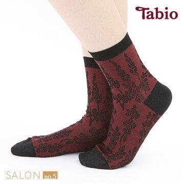 【靴下屋Tabio】復古緹花圖騰短襪日本襪子第一品牌