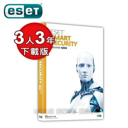 ESET Smart Security 3U3Y 多平台版 (下載版)【三井3C】