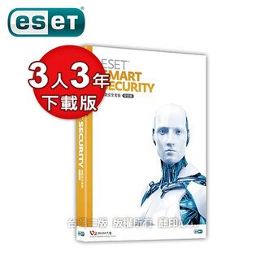 ESETSmartSecurity3U3Y多平台版(下載版)【三井3C】