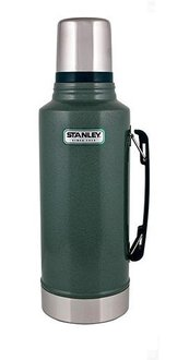 【鄉野情戶外專業】 Stanley |美國| Stanley 經典真空保溫瓶 1.9L-綠 10-01289