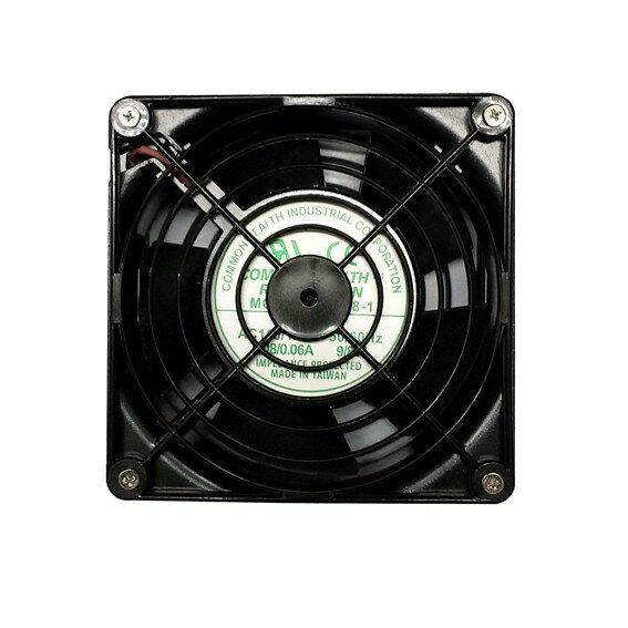 12x12 靜音風扇 110V (附電源線) - 限時優惠好康折扣