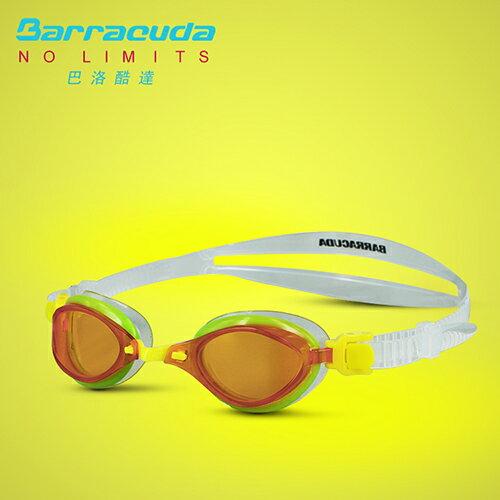 美國巴洛酷達Barracuda兒童競技型抗UV防霧泳鏡-FENIX JR#73855 1